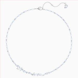 Swarovski Louison Necklace, Rhodium Plated